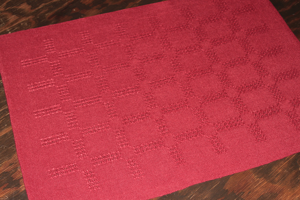 Linen Placemat, Swedish Lace
